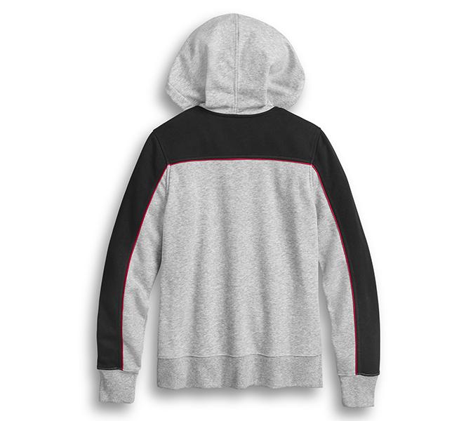 Stacked Stripe Hoodie