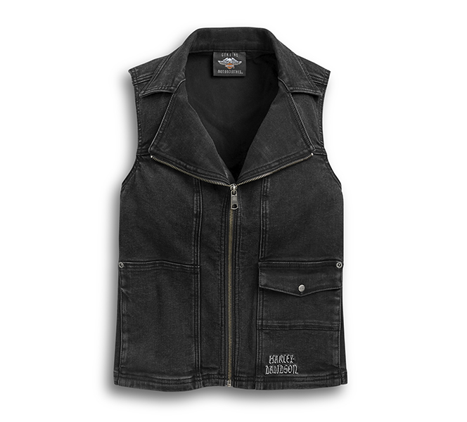 Winged Logo Zip-Front Vest