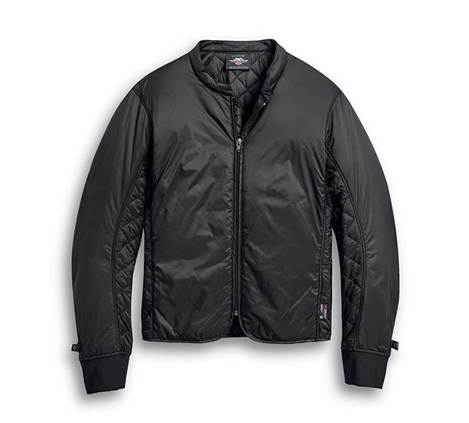 Vanocker Waterproof H-D Triple Vent System Leather Jacket