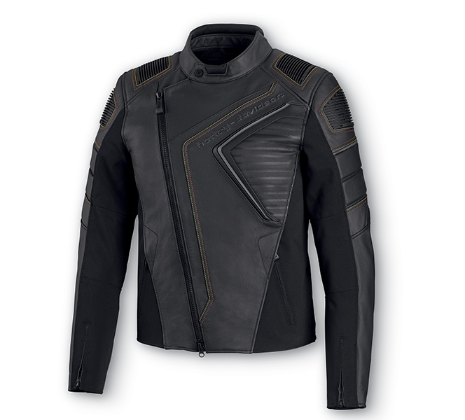 Watt Slim Fit Leather Jacket