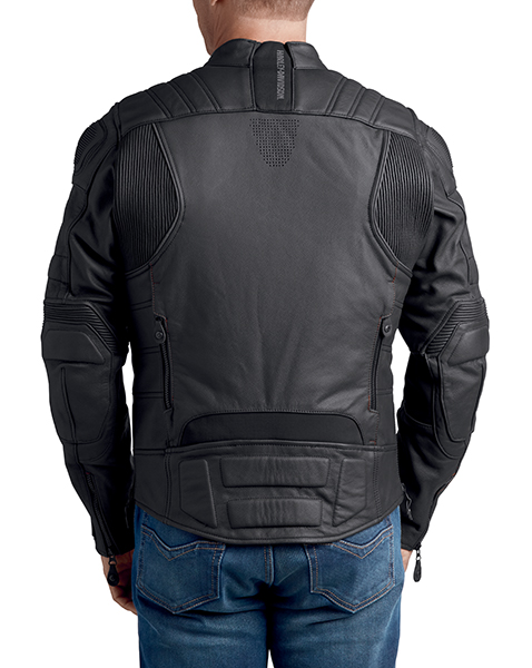FXRG Gratify Slim Fit Leather Jacket with Coolcore Technology