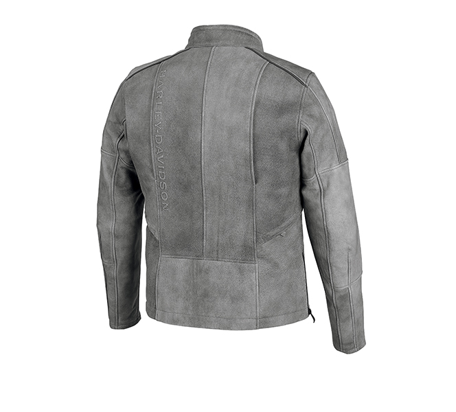 Burghal Slim Fit Leather Jacket
