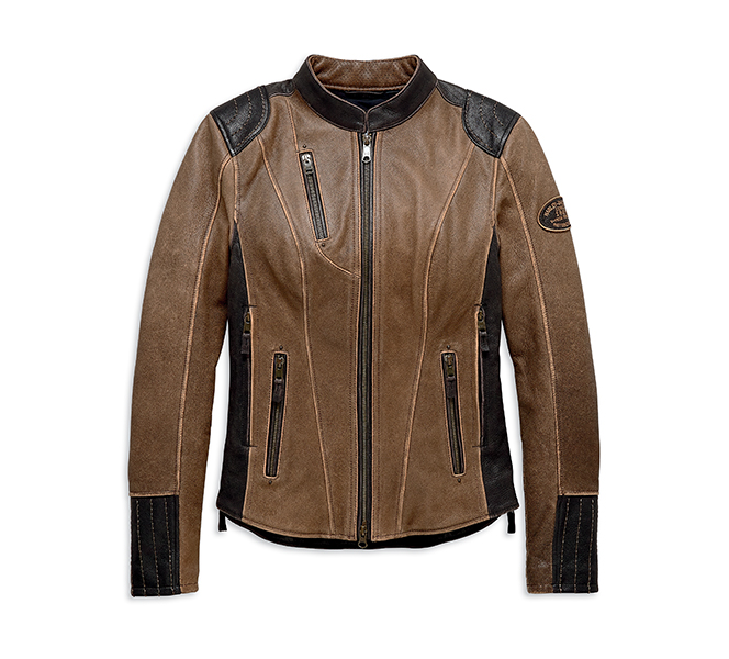 H-D Triple Vent System Gallun Leather Jacket