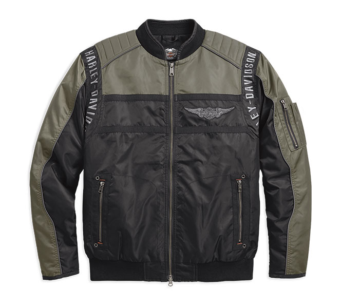 Mainstreet Nylon Bomber Jacket