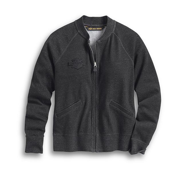 Zip-Front Cardigan