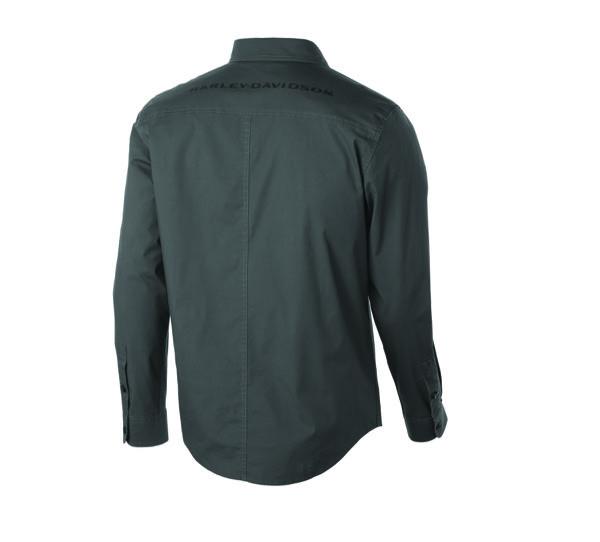 Stretch Long Sleeve Slim Fit Shirt