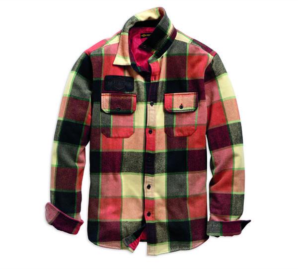 Logo Lined Slim Fit Shirt Jacket