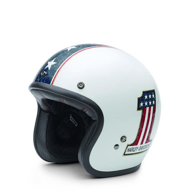 Americana Retro 3/4 Helmet